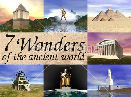 Le sette meraviglie antiche del mondo